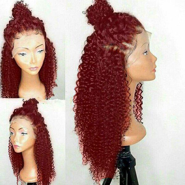 2019 Long Free Part Curly Lace Front Synthetic Wig  e10e36dfbb43
