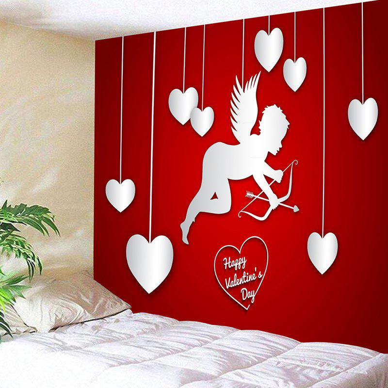 Outfit Valentine's Day Cupid Hearts Print Wall Tapestry