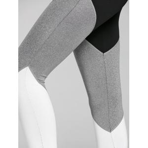 Color Block High Rise Yoga Tights -