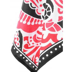 Tribal Printed Handkerchief Dress -
