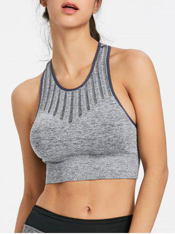 Fashion Sports Cropped Bra