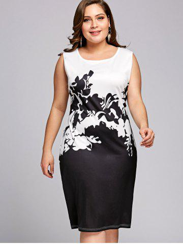 Black White Block Dress Free Shipping Discount And Cheap Sale
