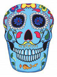 Skull Shape Beach Throw -
