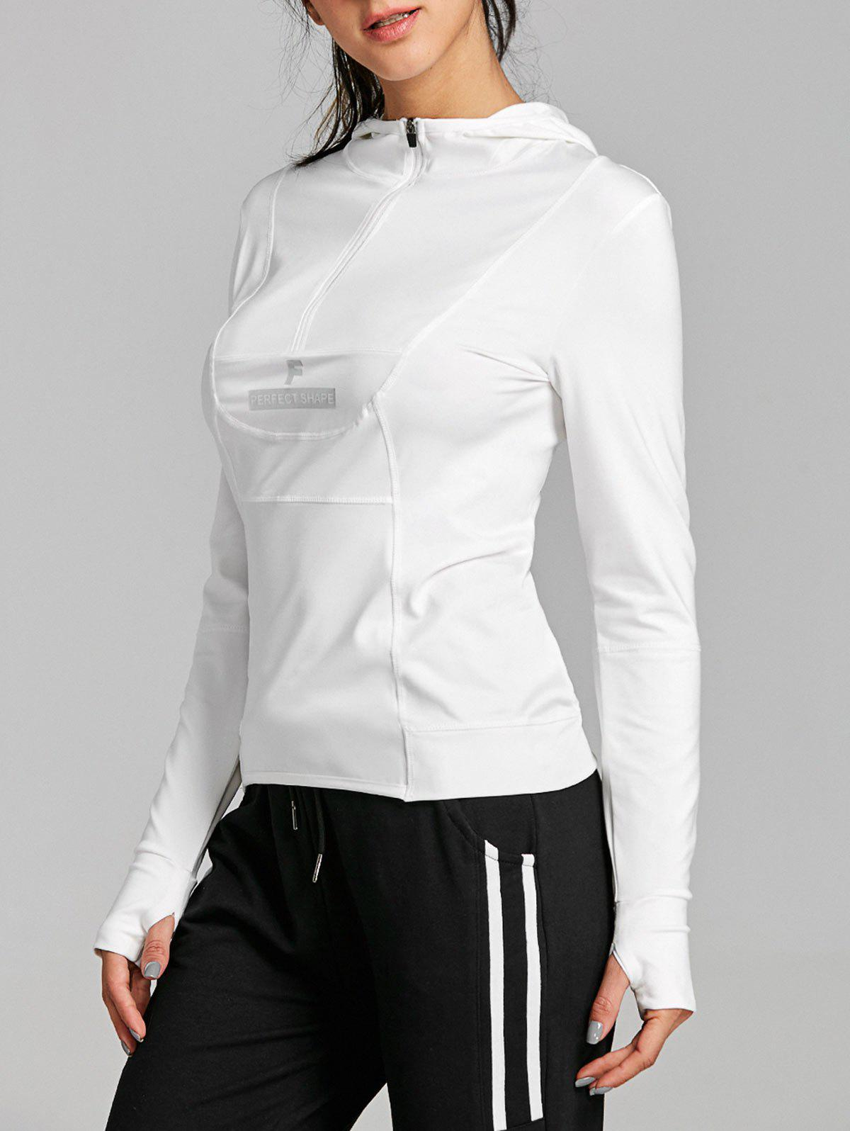 Outfit Sports Half Zip Up Long Sleeve Tee