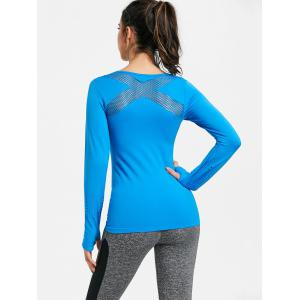 Breathable Skinny Sports Long Sleeve T-shirt -