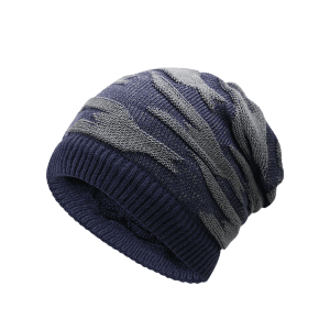 Multifunctional Empty Top Reversible Knitted Beanie -
