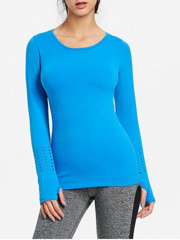 Online Breathable Skinny Sports Long Sleeve T-shirt
