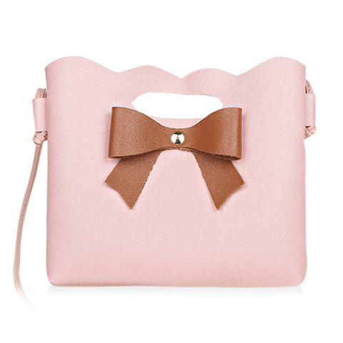 Affordable Hollow Out Bow Crossbody Bag