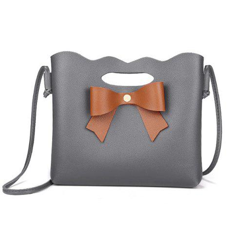 Sale Hollow Out Bow Crossbody Bag