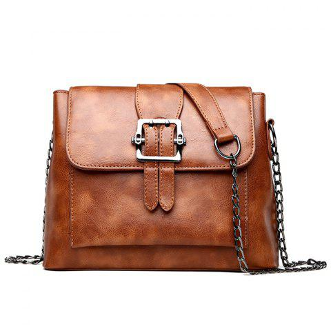 Best Belt Buckled Chain Strap Crossbody Bag