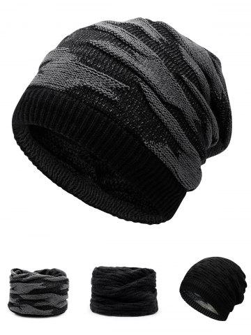 Shops Multifunctional Empty Top Reversible Knitted Beanie
