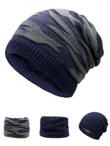 Store Multifunctional Empty Top Reversible Knitted Beanie