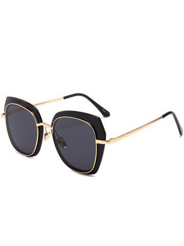 Trendy Vintage Metal Full Frame Sun Shades Sunglasses