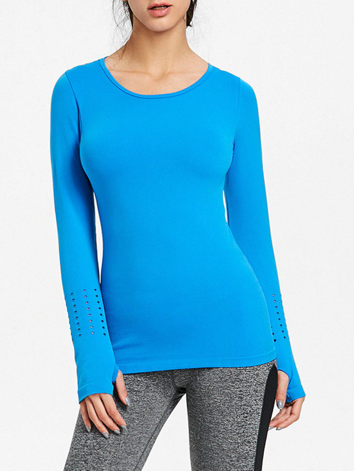 Discount Breathable Skinny Sports Long Sleeve T-shirt