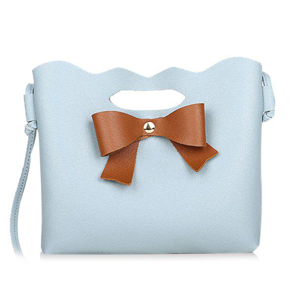 Buy Hollow Out Bow Crossbody Bag