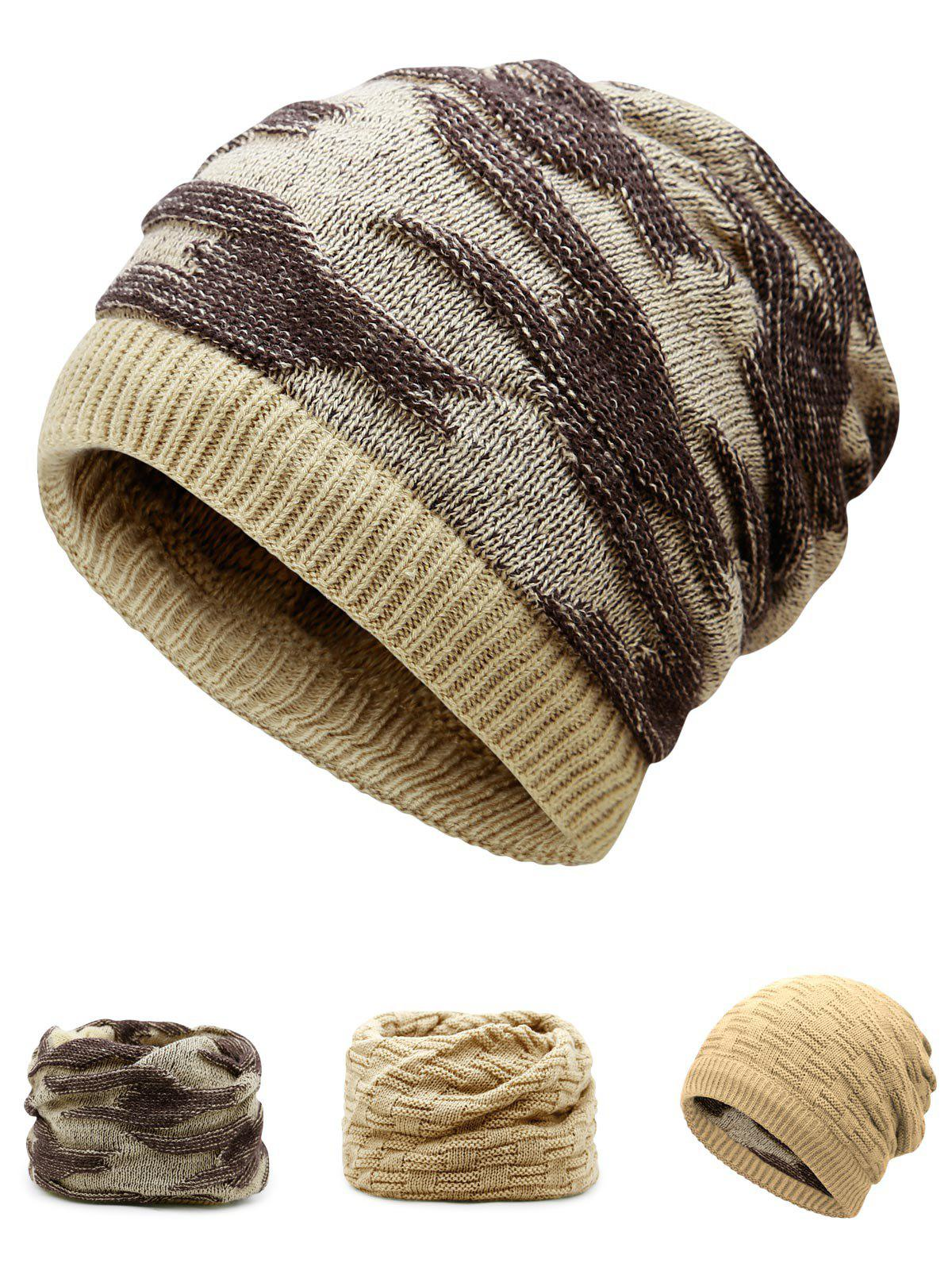 Best Multifunctional Empty Top Reversible Knitted Beanie