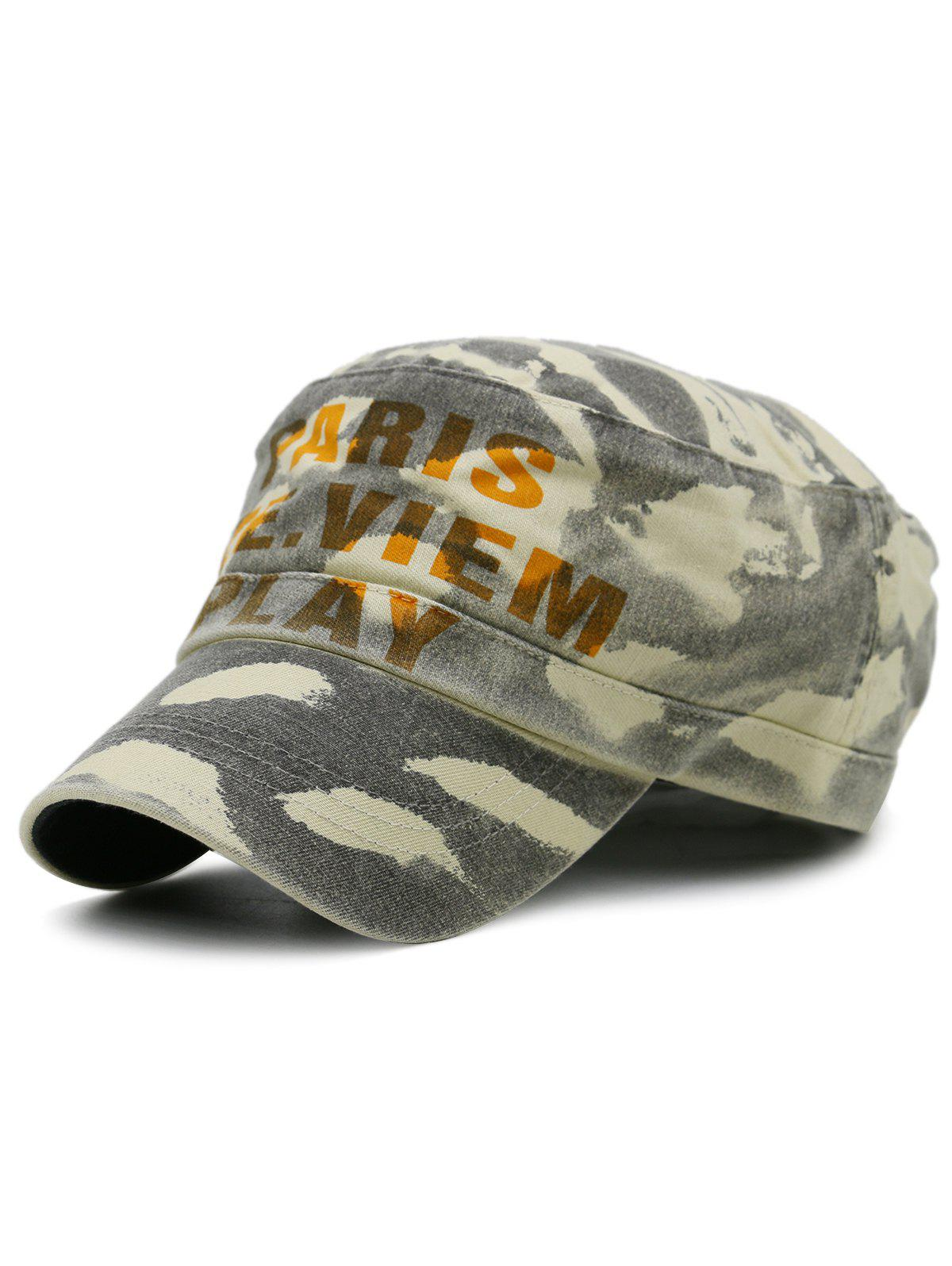 Buy Unique Camouflage Pattern Embellished Military Cap