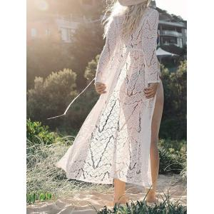 See Thru Lace Cover Up Cardigan -