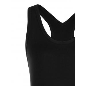 Monochrome Skull Tank Top -