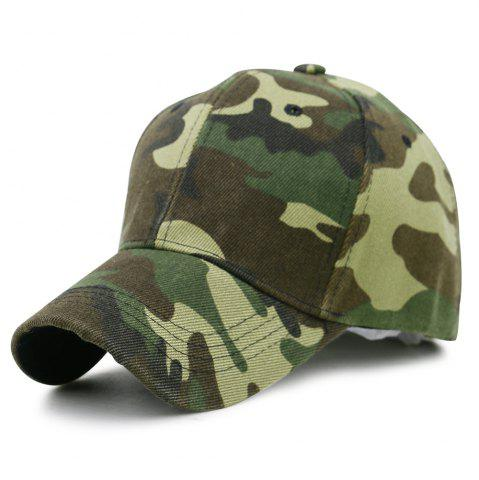 Outfits Camouflage Pattern Decorated Adjustable Baseball Hat