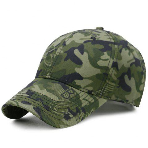 New Camouflage Pattern Decorated Adjustable Baseball Hat