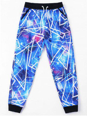 Sale Galaxy Drawstring Jogger Pants