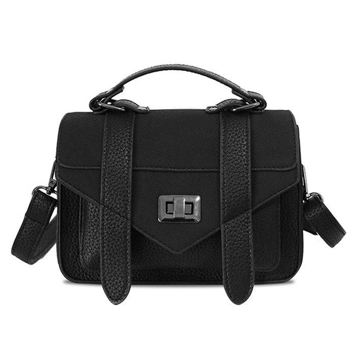 Buy Stitching Flap Crossbody Bag with Handle