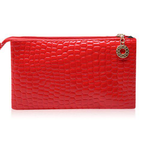 Discount PU Leather Embossing Minimalist Crossbody Bag