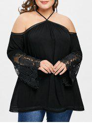 Plus Size Long Sleeve Swing Tunic Top -