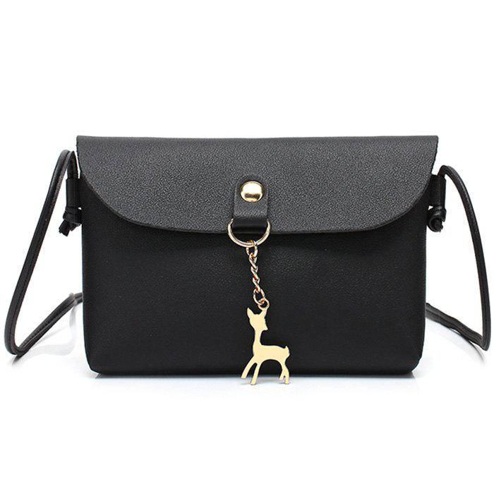 Cheap Minimalist Flap Dear Crossbody Bag