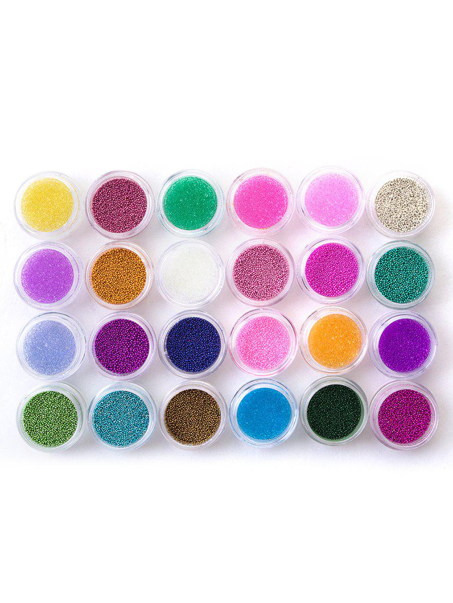 Best Professional 24 Colors Nail Art Decoration Pearl