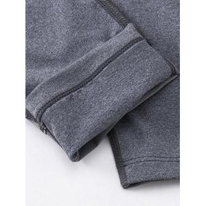 Stretchy Panel Design Quick Dry Gym Pants -