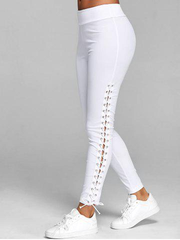 Best Elastic Waist Lace Up Leggings