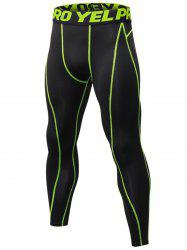 Linellae Stretchy Graphic Quick Dry Gym Pants -