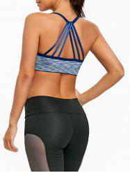 Heather Strappy Yoga Soutien-gorge -