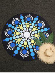 Polka Dot Round Beach Throw -