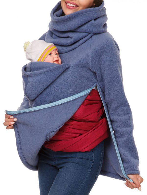 Sale Cowl Neck Baby Holder Sweatshirt