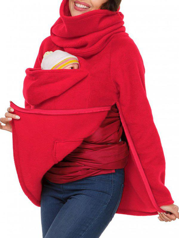 Best Cowl Neck Baby Holder Sweatshirt