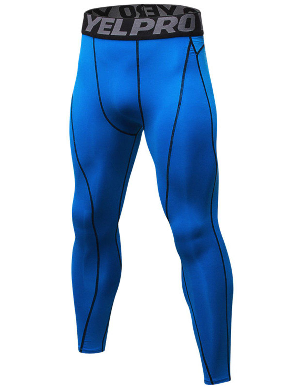 Fashion Linellae Stretchy Graphic Quick Dry Gym Pants