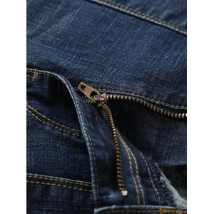 Scratch Detail Faded Wash Straight Jean -