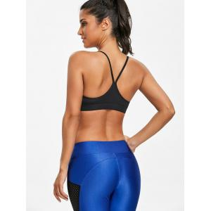 Unlined Ruched Cami Sports Bra -