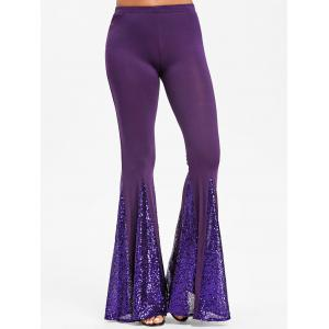 Sequin Flare Dance Pants -