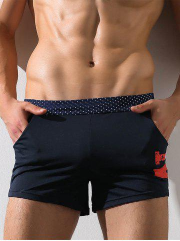 Affordable Openwork Graphic Print Boxer Brief