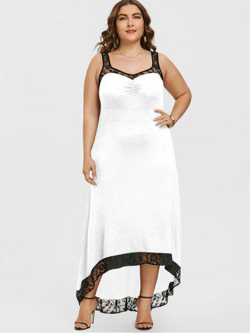 Plus Size White Dress Free Shipping Discount And Cheap Sale