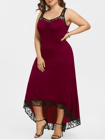 Affordable Plus Size High Low Party Maxi Dress