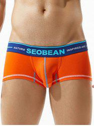 Elastic Waist U Pouch Design Boxer Brief -