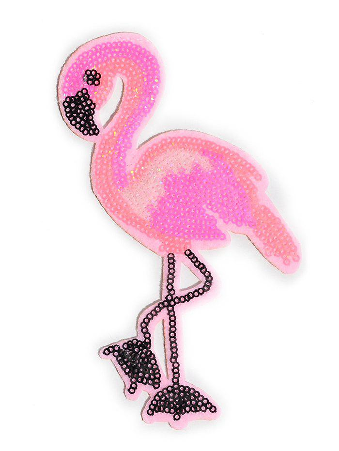 Buy Flamingo Parches Sticker Embroidery Patch