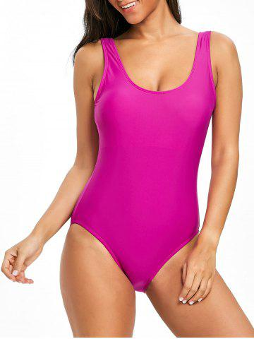 Sale High Leg Low Back One Piece Swimsuit