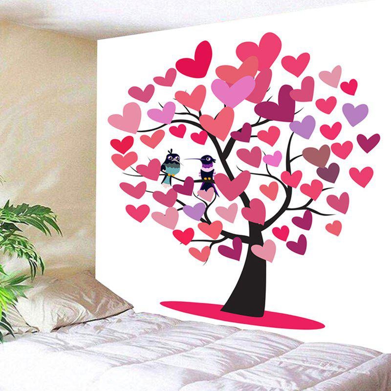 Outfits Love Hearts Tree Birds Wall Art Valentine's Day Tapestry