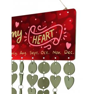 Light Green Diy Decoration You Are My Heart Birthday Reminder
